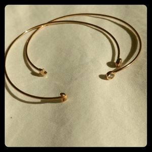 Jewelry - Sun and Moon Rose Gold Bracelets